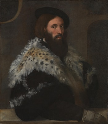 Portrait of Girolamo Fracastoro by Titian