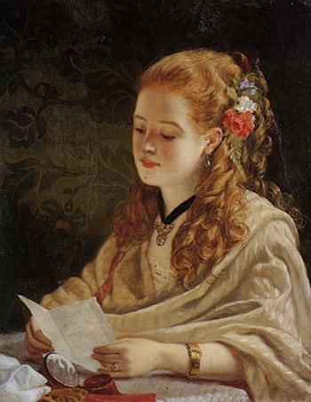 The Letter by William Maw Egley