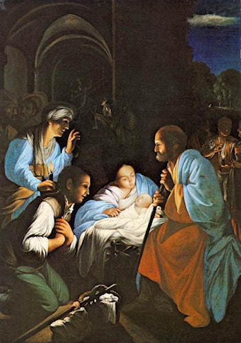 The Birth of Christ by Carlo Saraceni