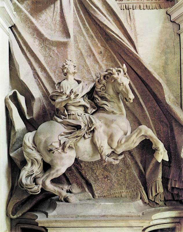 Constantine the Great by Gian Lorenzo Bernini - 3 images - Art Renewal Center