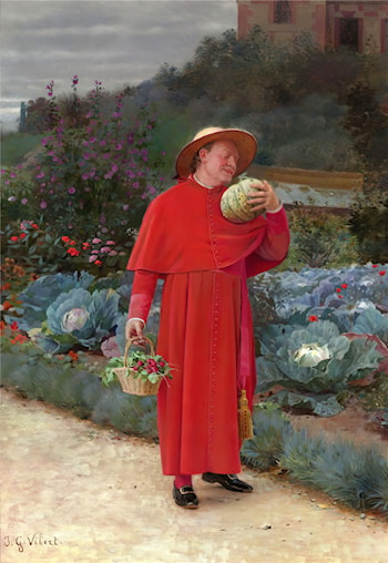 The Ripe Melon by Jehan Georges Vibert