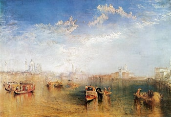 Giudecca, la Donna della Salute and San Georgio by Joseph Mallord William Turner