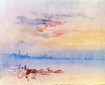 Venice, Looking East from the Guidecca: Sunrise by Joseph Mallord William Turner