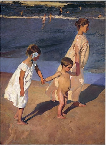 To the Water by Joaquin Sorolla y Bastida