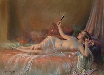 The Beautiful Flower by Delphin Enjolras