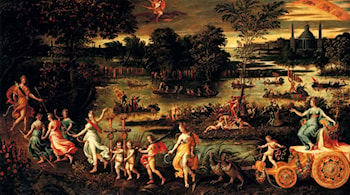 An Allegory Of The Triumph Of Summer by Antoine Caron