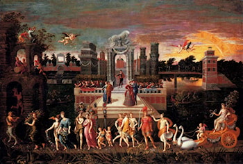 An Allegory Of The Triumph Of Spring by Antoine Caron