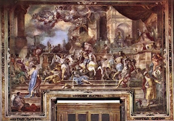 Expxulsion of Heliodorus from the Temple by Francesco Solimena