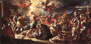 The Martyrdom of Sts Placidus and Flavia by Francesco Solimena
