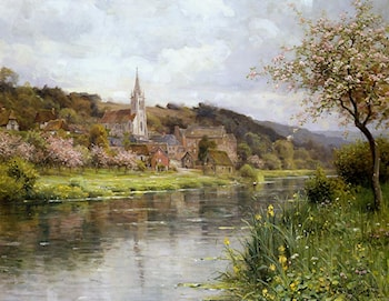 Along the Seine by Louis Aston Knight