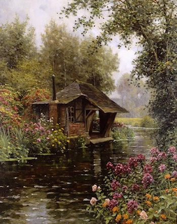 A Beaumont­le­Roger by Louis Aston Knight