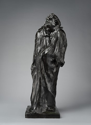 Final Study for the Monument to Balzac by Auguste Rodin