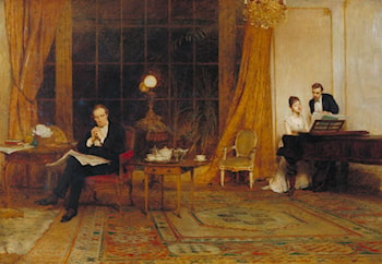 Her Mother's Voice by Sir William Quiller Orchardson