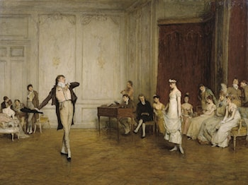 Her First Dance by Sir William Quiller Orchardson