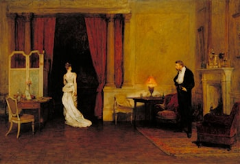 The First Cloud by Sir William Quiller Orchardson