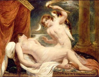 Cupid and Psyche by William Etty