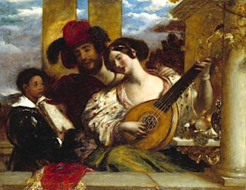 Il Duetto by William Etty