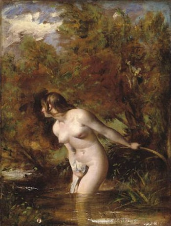 Musidora (The Bather) by William Etty