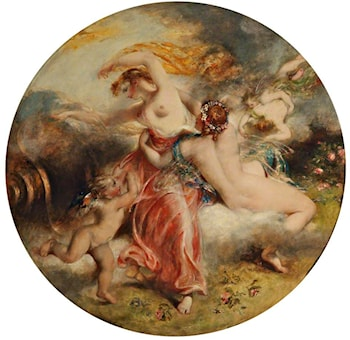Aurora and Zephyr by William Etty