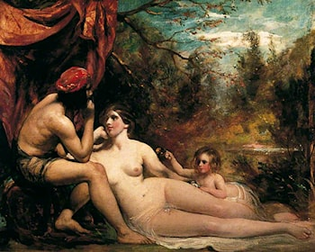 Flowers of the Forest by William Etty