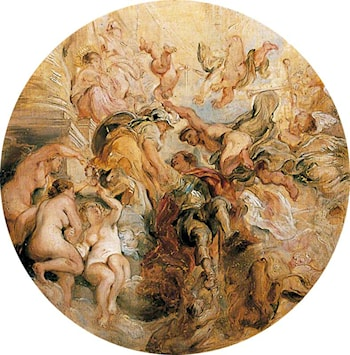 Apotheosis of the Duke of Buckingham (after Peter Paul Rubens) by William Etty