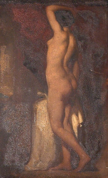 A Standing Female Nude by William Etty