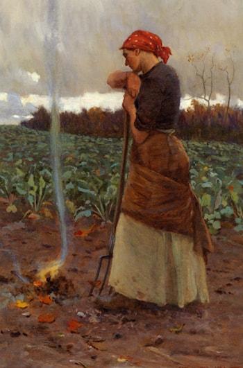 The Harvest Is Past ­ The Summer Is Ended by George Faulkner Wetherbee