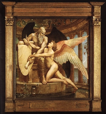 The Roll of Fate by Walter Crane