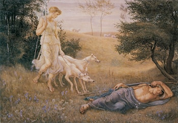 Diana and Endymion by Walter Crane