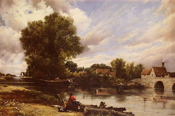 Along The River by Frederick William Watts