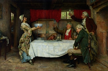 A Good Bowl of Punch by William A. Breakspeare