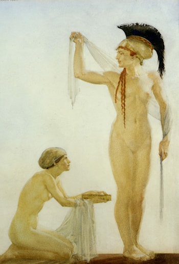 Pallais Athene by Sir William Russell Flint