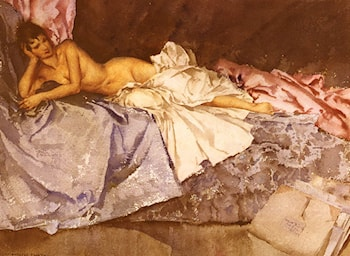 Abigail, A New Model by Sir William Russell Flint