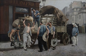 Flour Carriers, Paris by Louis Robert Carrier-Belleuse