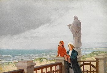Looking Out to Shore by Louis Robert Carrier-Belleuse