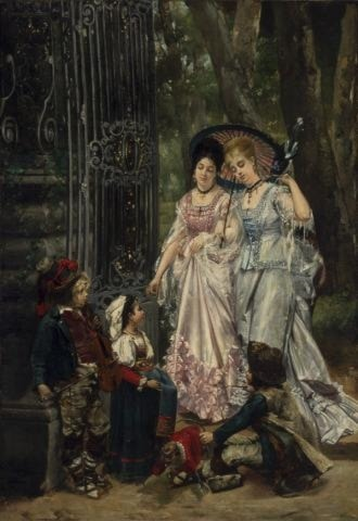 The Young Performers by Louis Robert Carrier-Belleuse