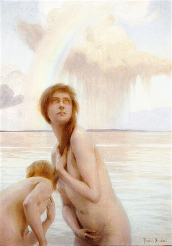 After a Sun Shower by Paul Emile Chabas