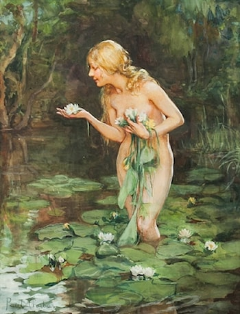 The Lily by Paul Emile Chabas