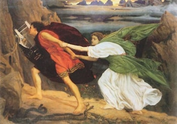 Orpheus (and Euridice) by Anselm Friedrich Feuerbach