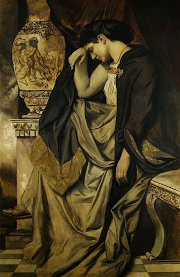 Medea with the Urn by Anselm Friedrich Feuerbach