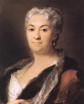 Elderly Lady by Rosalba Carriera
