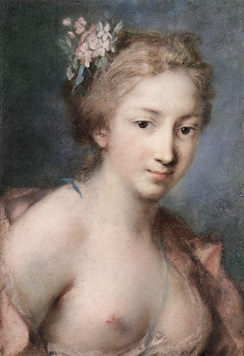 Flora by Rosalba Carriera