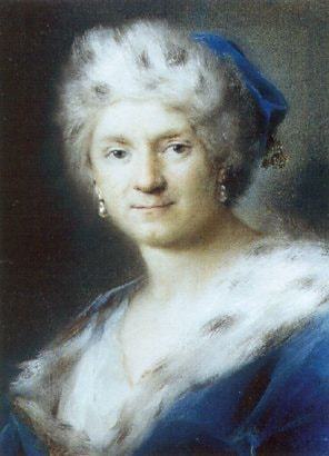 Self­Portrait as Winter by Rosalba Carriera