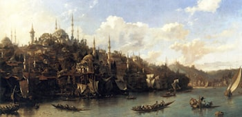 A View of the Suleymaniyeh by Eugene Napoleon Flandin