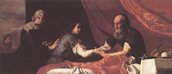 Jacob Receives Isaac's Blessing by Jusepe de Ribera