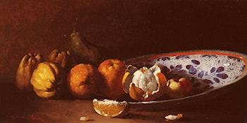 Nature Morte Aux Fruits by Germain Theodure Clement Ribot