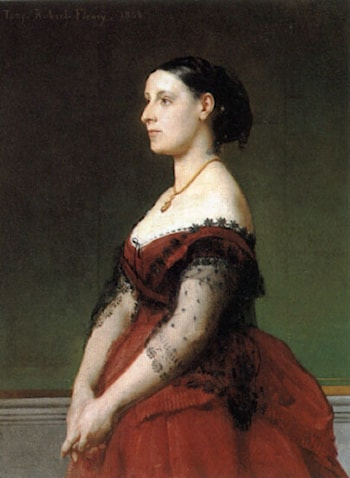 Portrait of a Woman by Tony Robert-Fleury