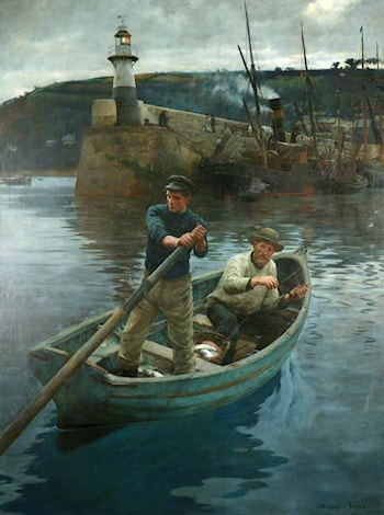 The Lighthouse (Newlyn, Cornwall) by Stanhope Alexander Forbes