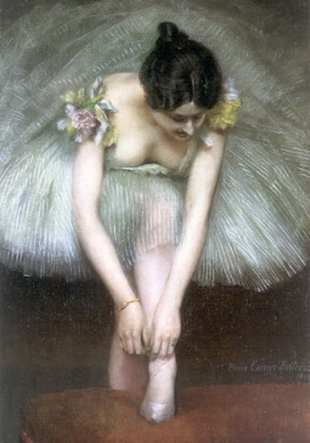 Before the Ballet by Pierre Carrier-Belleuse