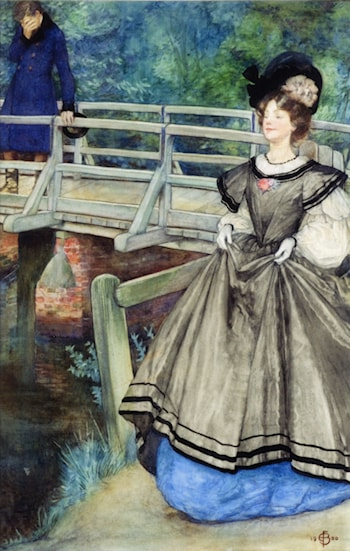 The Cunning Skill to Break a Heart by Eleanor Fortescue-Brickdale